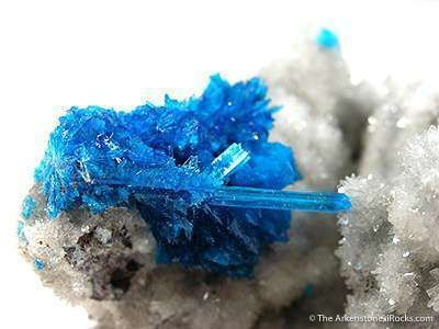 Pentagonite on Cavansite (Both Dimorphs on One Specimen!)