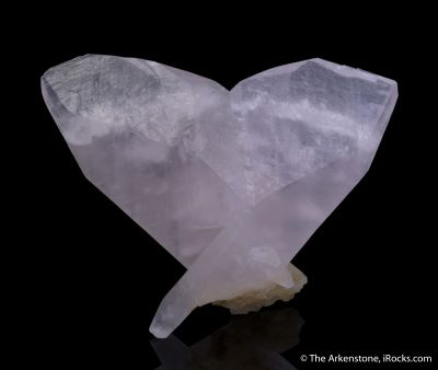 Calcite var. Manganoan (butterfly-twinned)