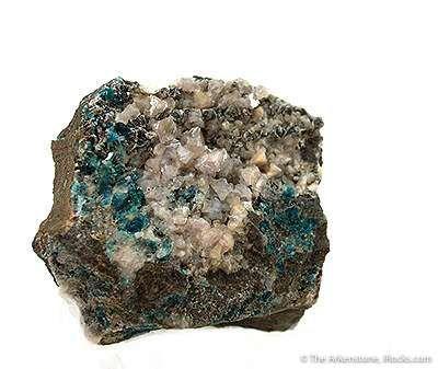 Goyazite on Lazulite