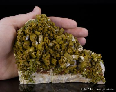 Pyromorphite and Barite