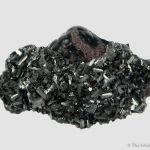 Manganite on Hematite