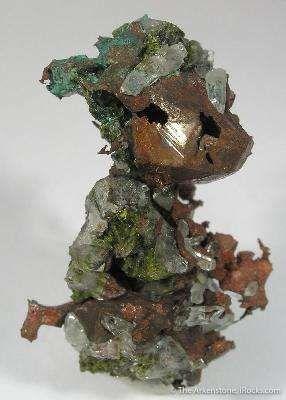 Copper, Quartz, Epidote