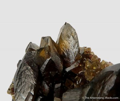 Siderite - rare xls for locality!