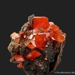 Wulfenite (Ed Over era, circa 1938)