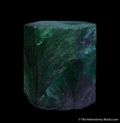 Malachite ps after Azurite