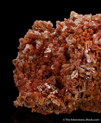 Vanadinite with Calcite