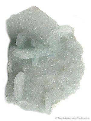 Prehnite Pseudomorph After Calcite
