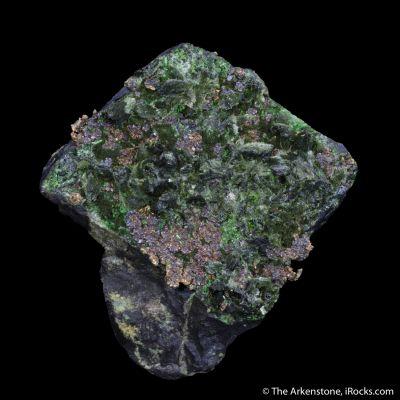 Silver, Zincolivenite, Olivenite