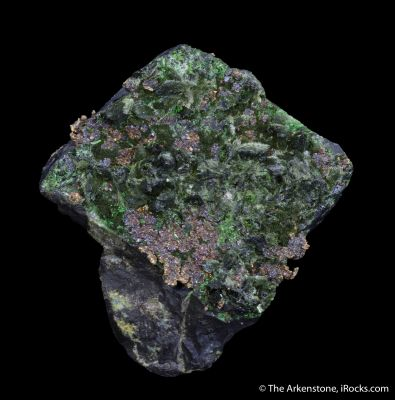Silver, Zincolivenite, Olivenite