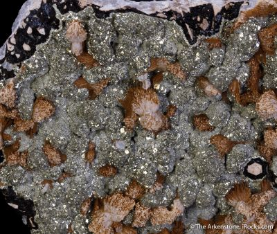 Kutnohorite with Pyrite