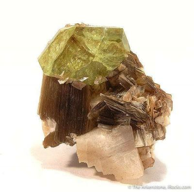 Brazilianite, Muscovite, Albite