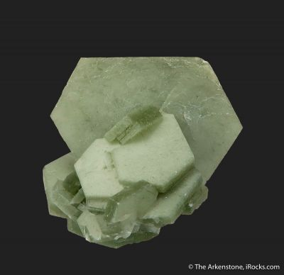 Calcite with Hedenbergite inclusions