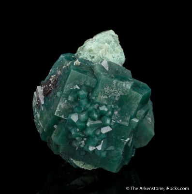 Apophyllite with Celadonite Inclusions