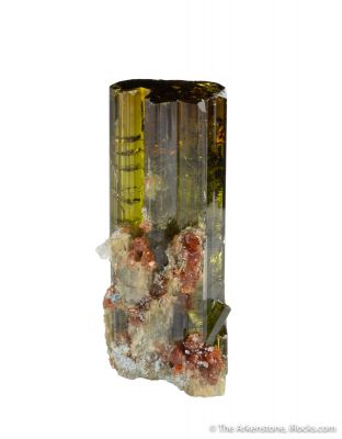 Vesuvianite with Grossular Garnet