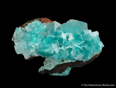 Calcite with Aurichalcite