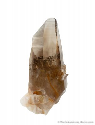 Quartz var. Citrine with Smoky Quartz