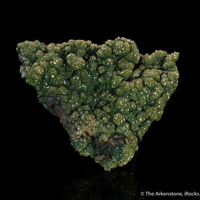 Pyromorphite with Malachite