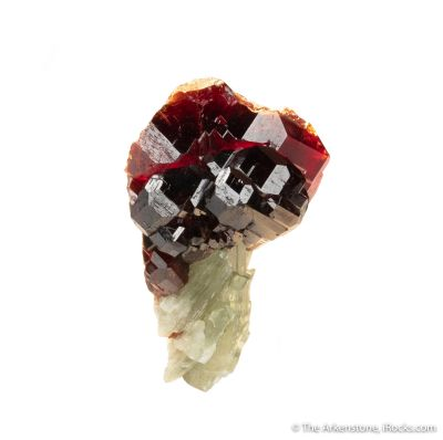 Grossular Garnet on Diopside