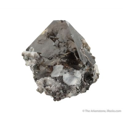 Scheelite with Calcite