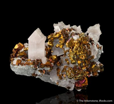 Calcite with Chalcopyrite