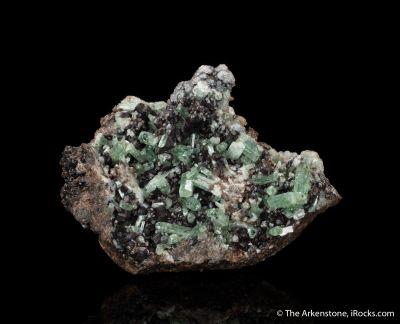 Fluorapatite with Andradite