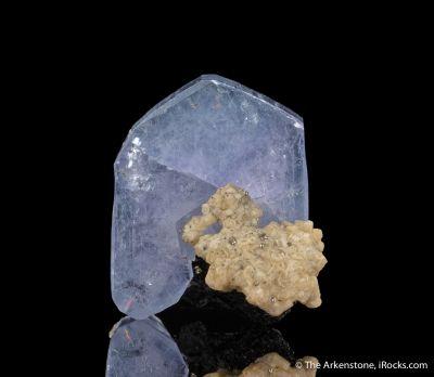 Fluorapatite with Siderite and Ferberite