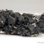 Chalcocite replacing Galena with Dolomite, Cerussite, Quartz