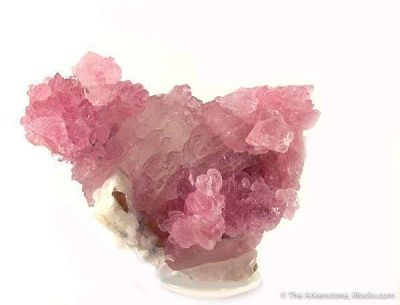 Rose Quartz on Quartz