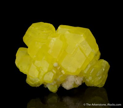 Sulfur with Aragonite