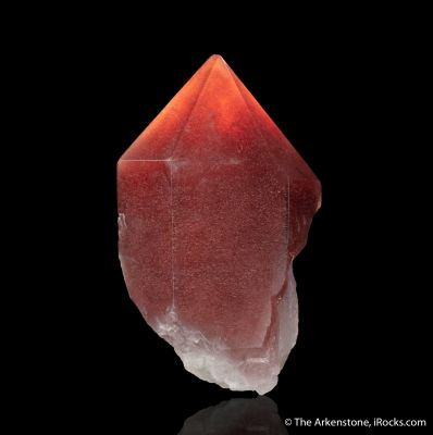 Quartz with Hematite Inclusions (Strawberry Quartz)
