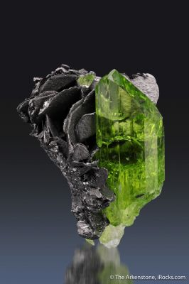 Diopside with Graphite