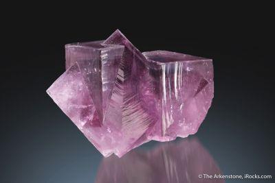Fluorite (twinned)
