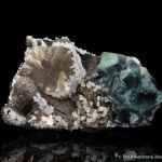Pyrrhotite and Fluorite with Calcite