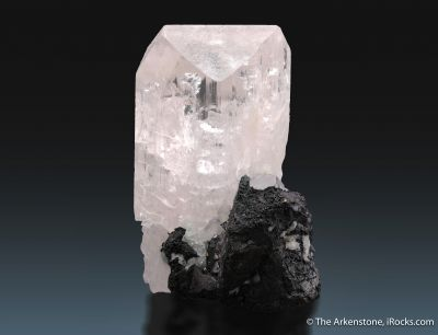 Danburite with Bornite