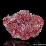 Roselite with Calcite