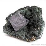 Perovskite with Clinochlore