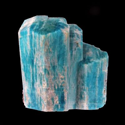 Microcline var. Amazonite with Smoky Quartz