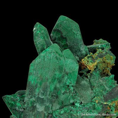 Malachite pseudo. after Azurite