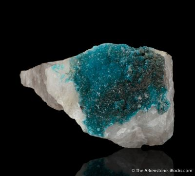 Turquoise (rare primary crystals)