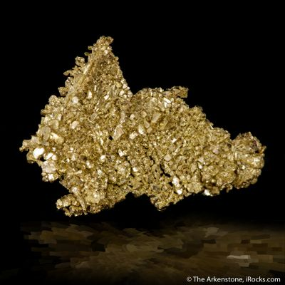Gold (Cubic crystals!)