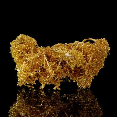 Wire Gold with Ferberite
