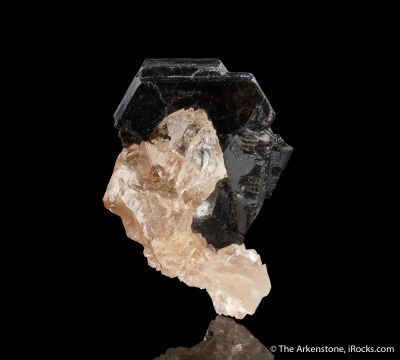 Topaz with Biotite Mica