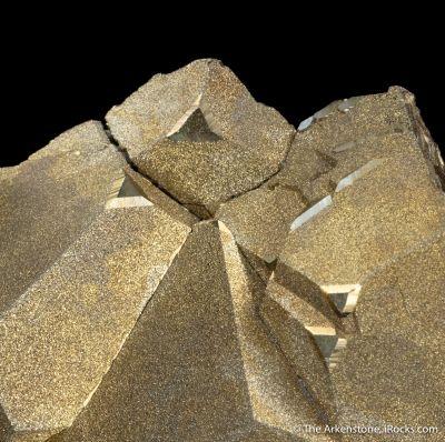 Pyrite on Pyrite