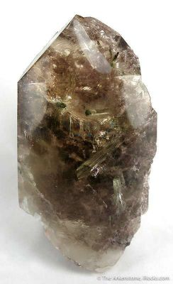 Moving Water Bubble Inside Quartz Ps. Tourmaline, Within Quartz