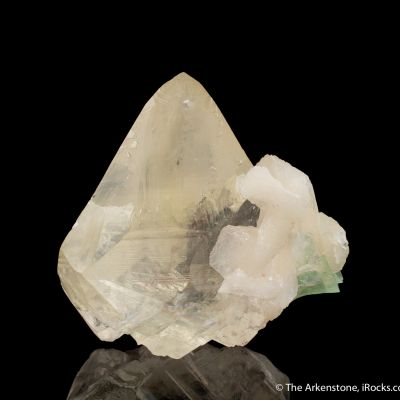 Calcite with Fluorapophyllite and Stilbite
