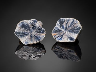 Trapiche Sapphire nodule