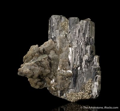 Arsenopyrite with Pyrite and Muscovite