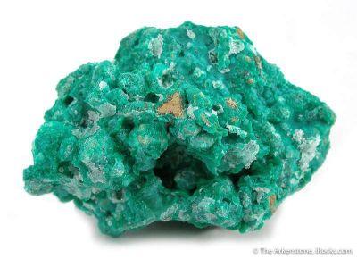 Nepouite (Green) and Quartz