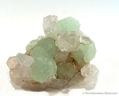 Prehnite and Quartz